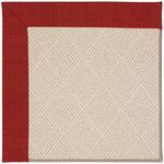 Creative Concepts-White Wicker Canvas Cherry Machine Tufted Rug Runner image