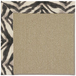Creative Concepts-Sisal Tigress Zinc Machine Tufted Rug Rectangle image