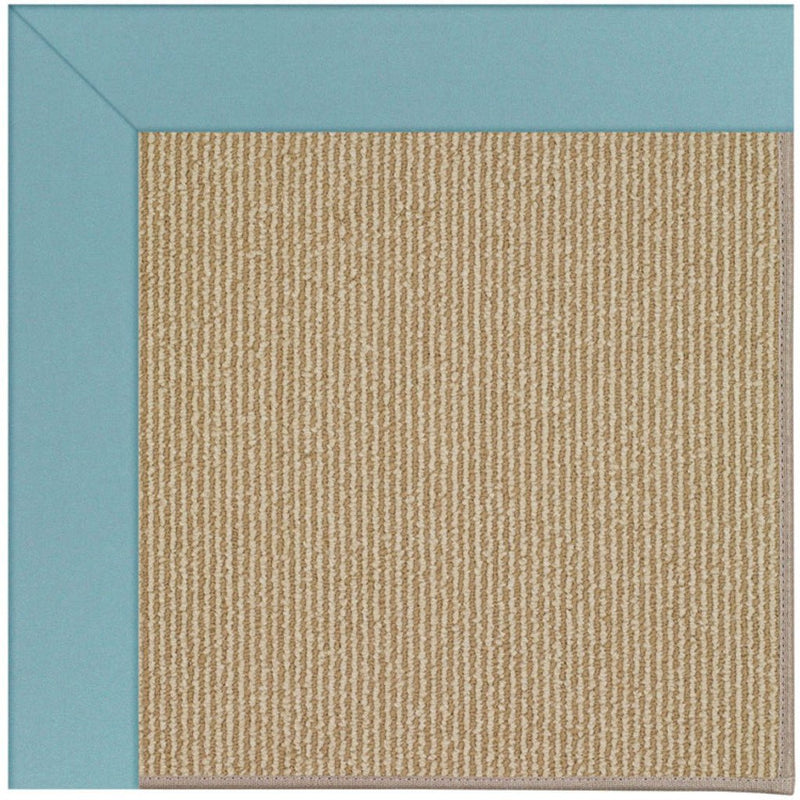Creative Concepts-Sisal Canvas Mineral Blue Machine Tufted Rug Runner image