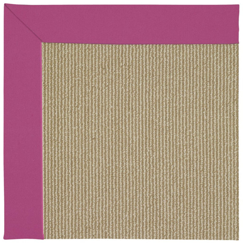 Creative Concepts-Sisal Canvas Hot Pink Machine Tufted Rug Rectangle image