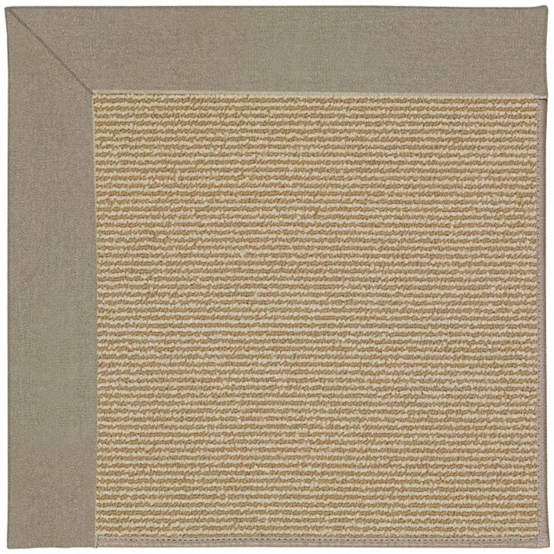 Creative Concepts-Sisal Canvas Taupe Machine Tufted Rug Runner image