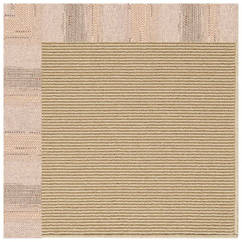 Creative Concepts-Sisal Sicily Sparrow Indoor/Outdoor Bordere Rectangle Corner image