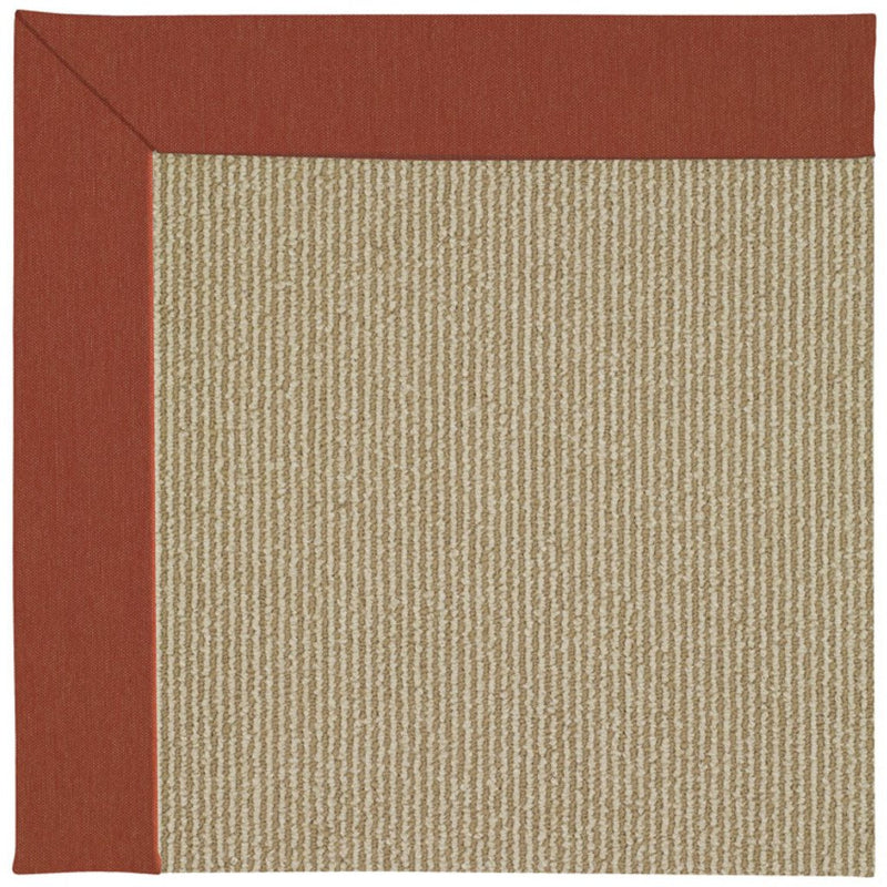 Creative Concepts-Sisal Canvas Brick Machine Tufted Rug Runner image