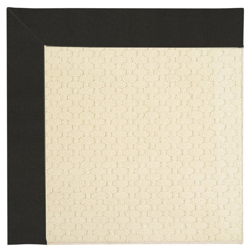 Creative Concepts-Sugar Mtn. Canvas Black Machine Tufted Rug Runner image