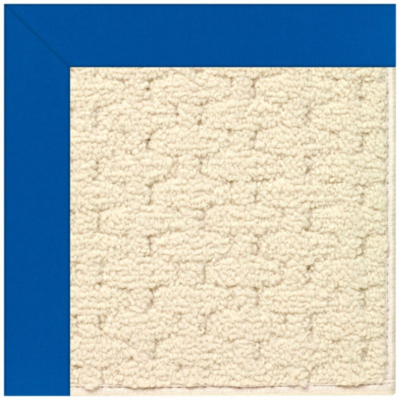 Creative Concepts-Sugar Mtn. Canvas Pacific Blue Machine Tufted Rug Runner image