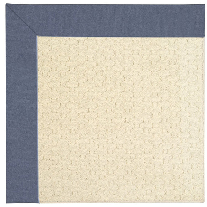 Creative Concepts-Sugar Mtn. Canvas Sapphire Blue Machine Tufted Rug Rectangle image