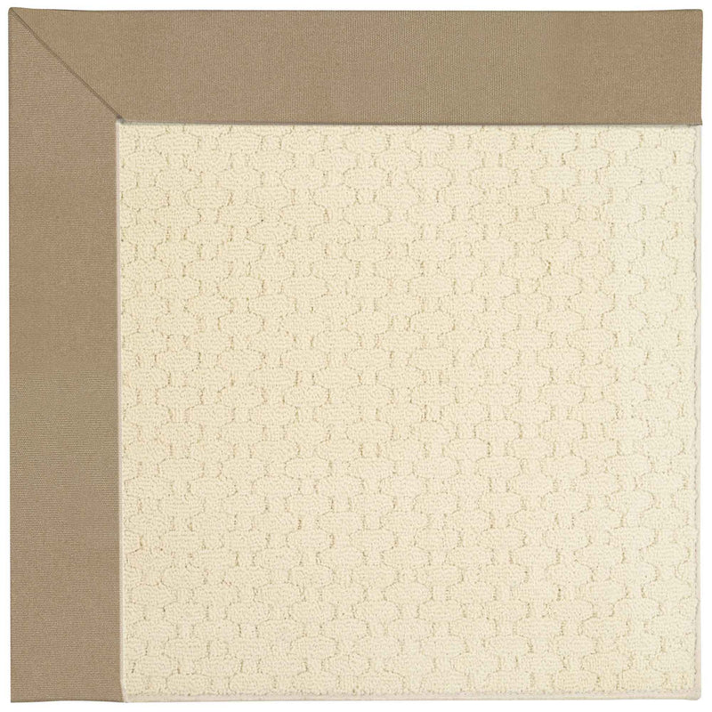 Creative Concepts-Sugar Mtn. Canvas Camel Indoor/Outdoor Bordere Rectangle Corner image