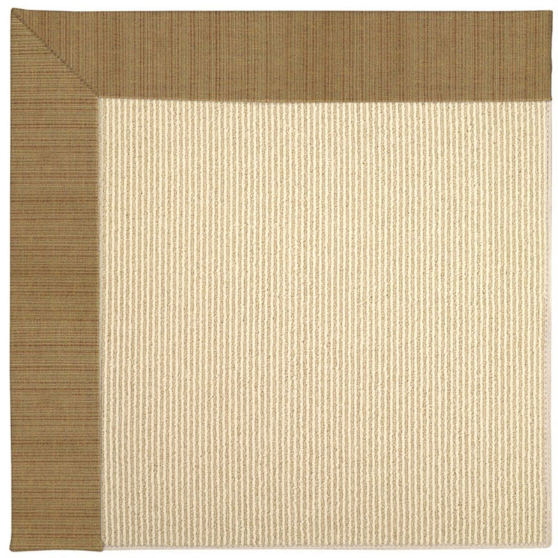 Creative Concepts-Beach Sisal Dupione Caramel Machine Tufted Rug Runner image