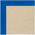 Creative Concepts-Beach Sisal Canvas Pacific Blue Machine Tufted Rug Runner image