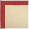 Creative Concepts-Beach Sisal Dupione Crimson Machine Tufted Rug Rectangle image