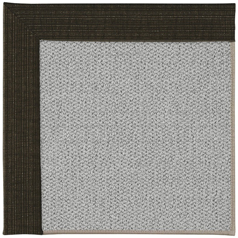 Inspire-Silver Bespangle Bark Machine Tufted Rug Rectangle image