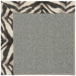 Creative Concepts Plat Sisal Tigress Zinc Machine Tufted Rug Rectangle image