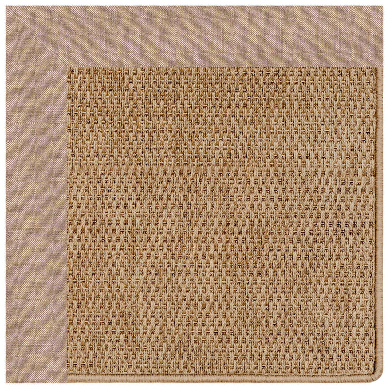 Islamorada-Basketweave Cast Petal Indoor/Outdoor Bordere Rectangle Corner image
