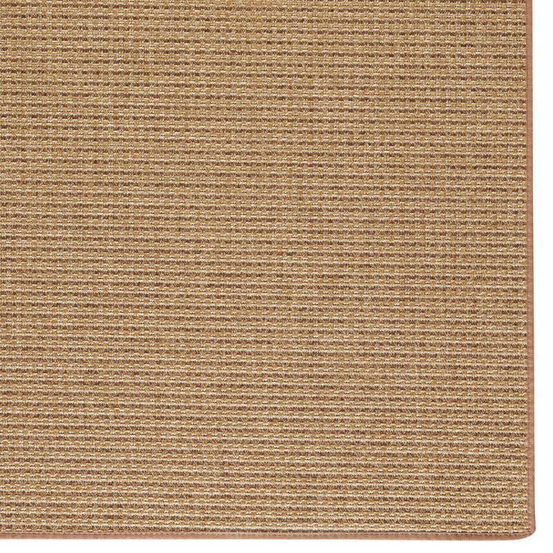Islamorada-Basketweave-Bound Machine Woven Rug Rectangle Corner image