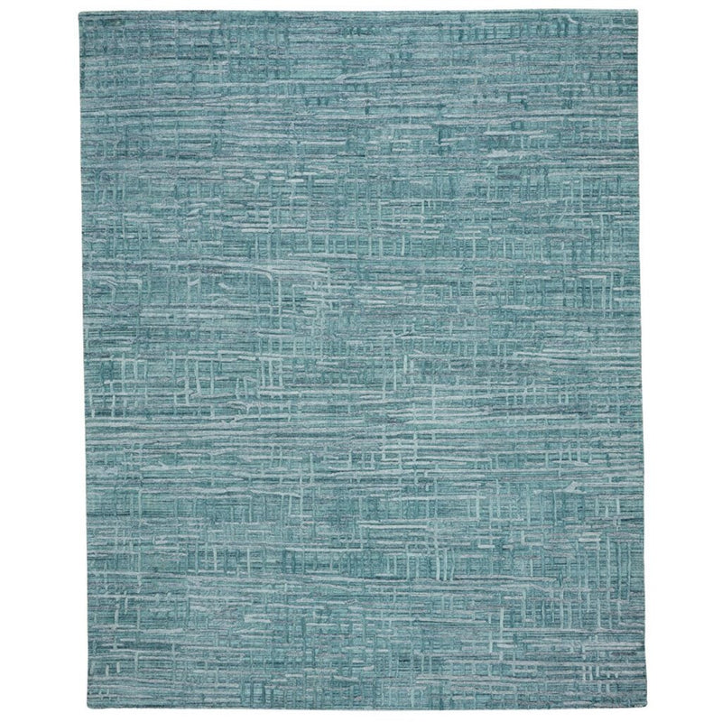 Cambria Azurine Hand Loomed Area Rug Rectangle image