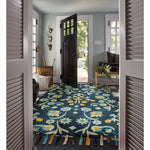 Gypsy-Lonar Copen Blue Hand Tufted Rug Rectangle image