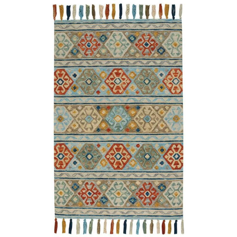 Gypsy-Santo Multi Hand Tufted Rug Rectangle image
