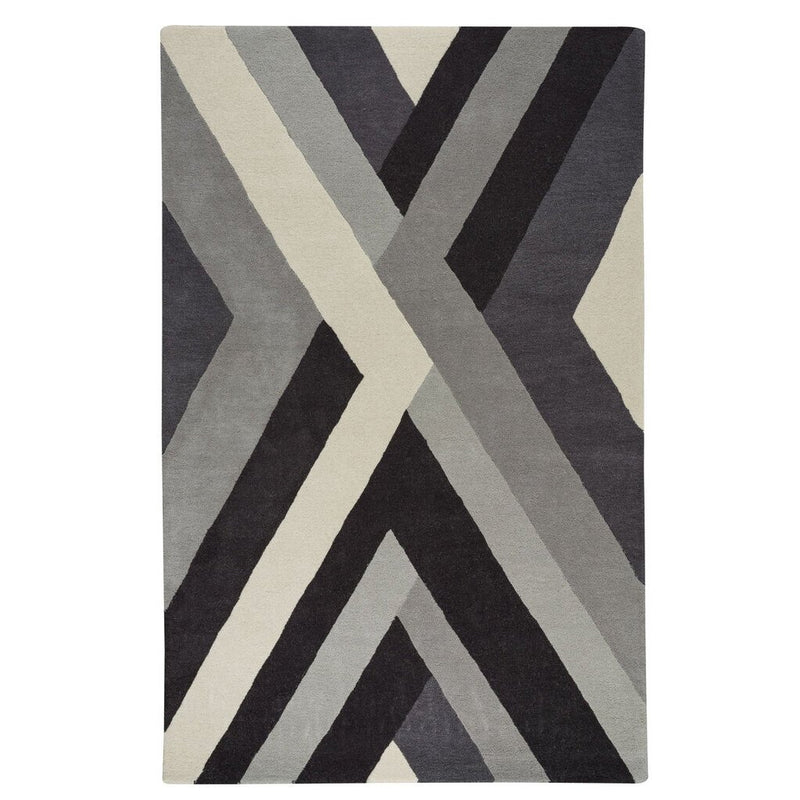 Intersection Storm Hand Tufted Rug Rectangle image