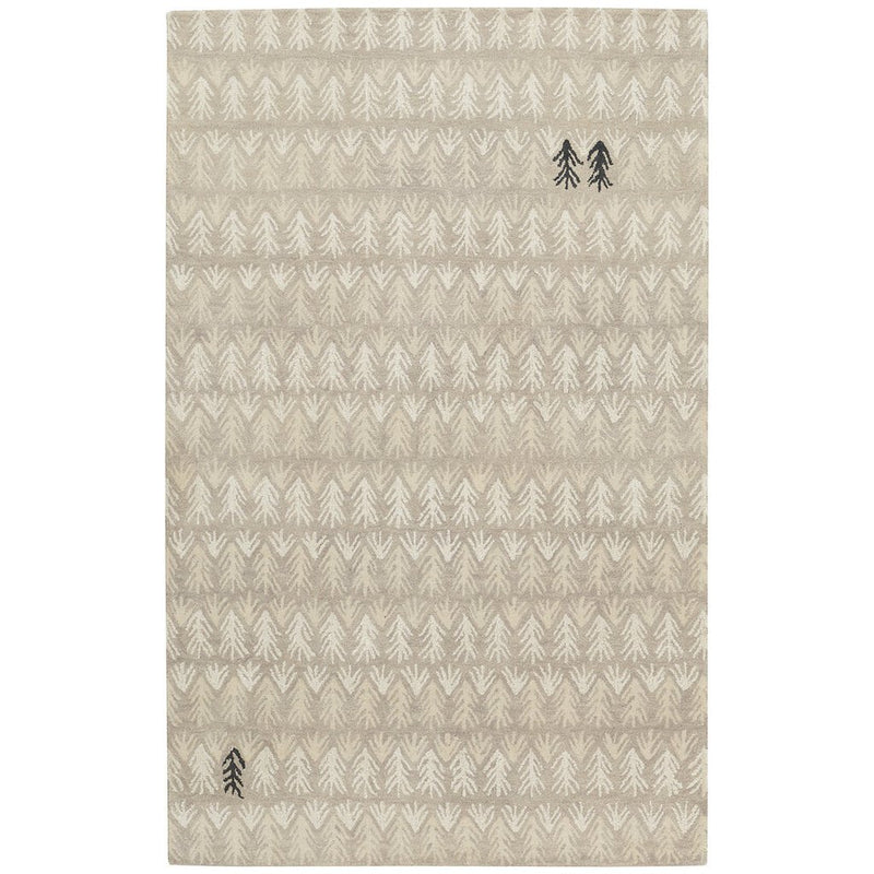 Sticks Stone Hand Tufted Rug Rectangle image