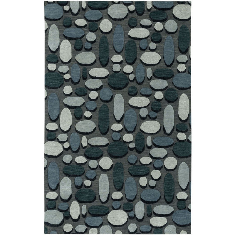 Shadows Graphite Hand Tufted Rug Rectangle image