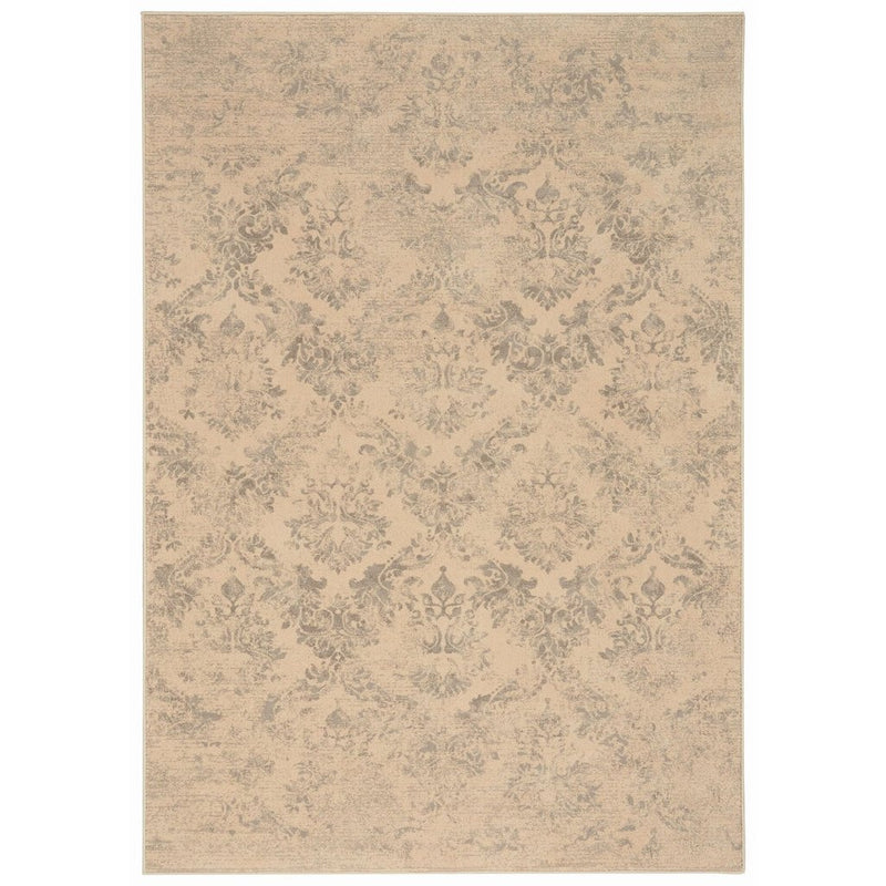 Gilded Age Nickel Machine Woven Rug Rectangle image