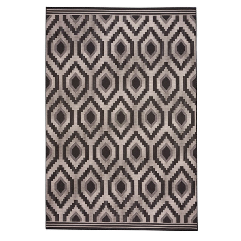 Cliffside Diamond Machine Woven Rug Rectangle image