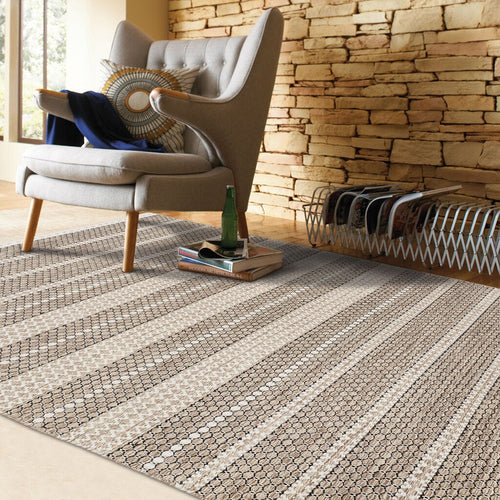 Abingdon Sesame Hand Woven Area Rug Rectangle image