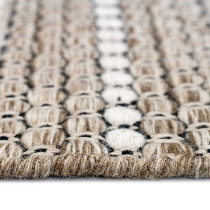 Abingdon Sesame Hand Woven Area Rug Rectangle Cross Section image