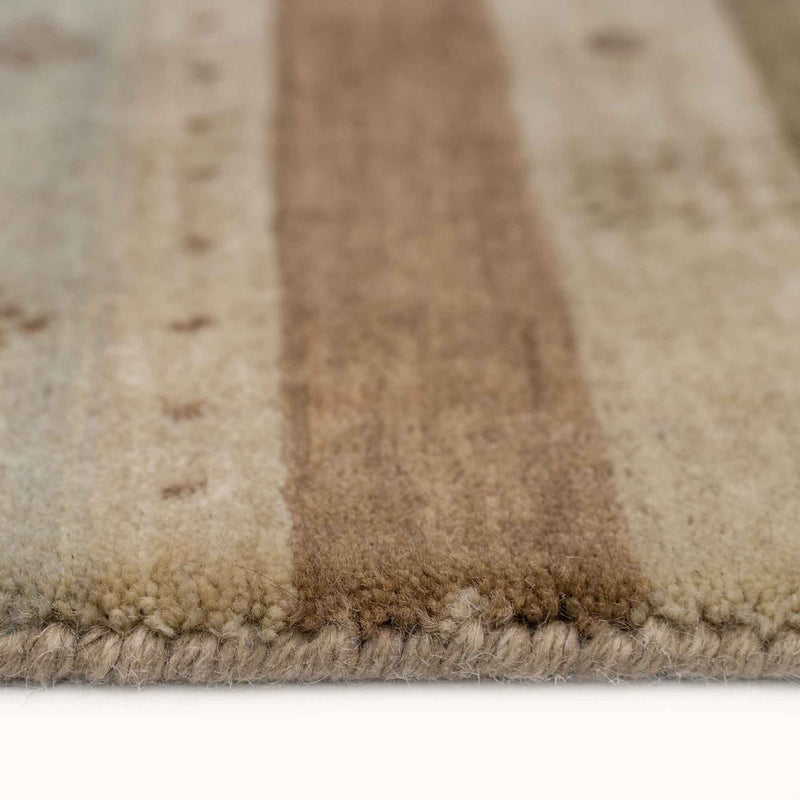Simply Gabbeh Stucco Hand Loomed Area Rug Rectangle Cross Section image