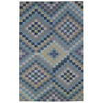 Sunshine & Shadow Slates Flat Woven Rug Rectangle image