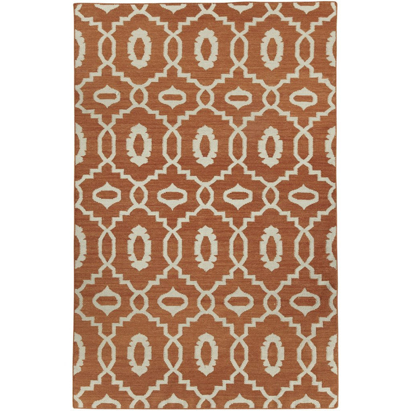 Moor Saffron Flat Woven Rug Rectangle image