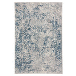 Milagros Blue Steel Machine Woven Rug Rectangle image