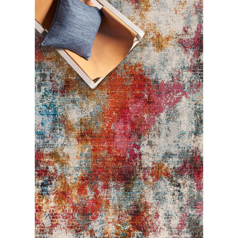 Fuego-Alonso Fire Multi Machine Woven Rug Rectangle image
