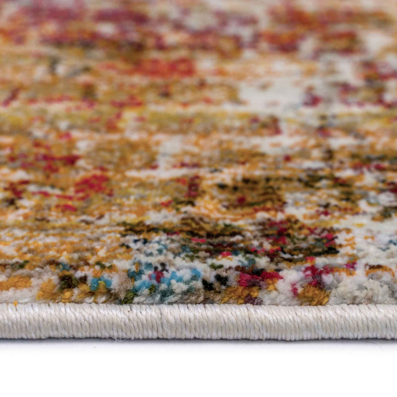 Fuego-Alonso Fire Multi Machine Woven Rug Rectangle Cross Section image