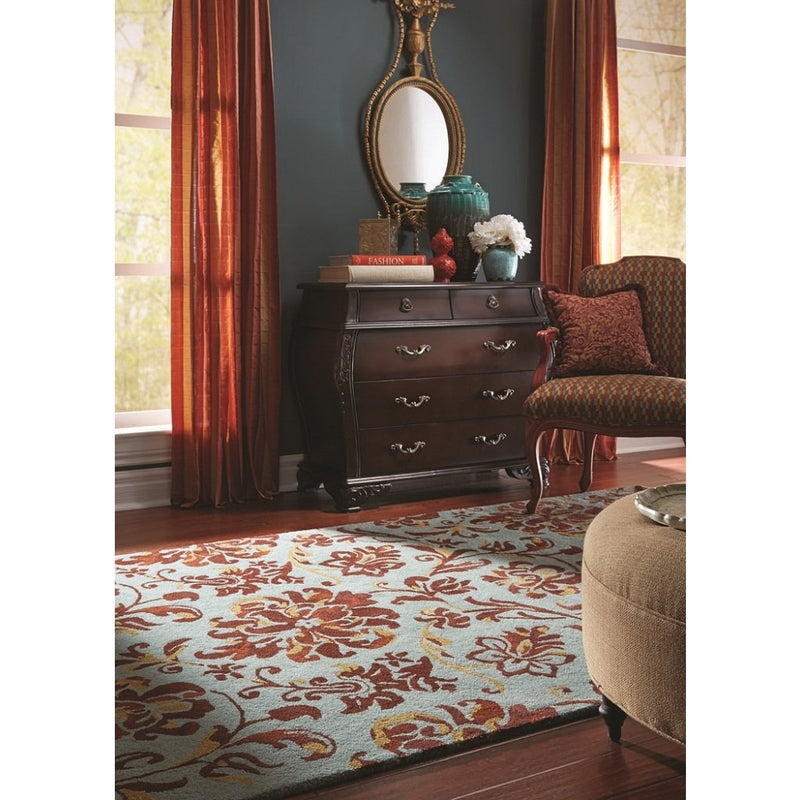 Monte Carlo Seamist Mahogany Hand Tufted Rug Rectangle image