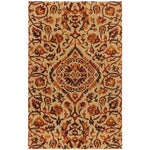 Monte Carlo Wheat Persimmon Hand Tufted Rug Rectangle image