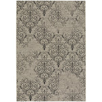 Finesse-Heirloom Noir Machine Woven Rug Rectangle image