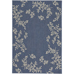 Finesse-Winterberry Capri Blue Machine Woven Rug Rectangle image