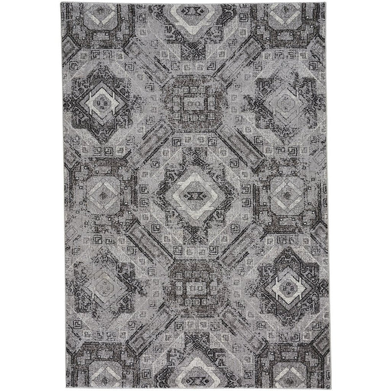 Quarry Pewter Machine Woven Rug Rectangle image