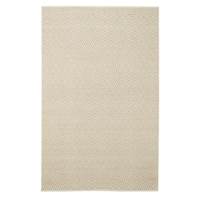 Diamond Linen Flat Woven Rug Rectangle image