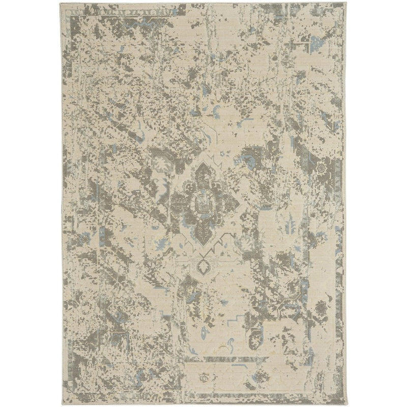 Kodari Ivory Machine Woven Rug Rectangle image