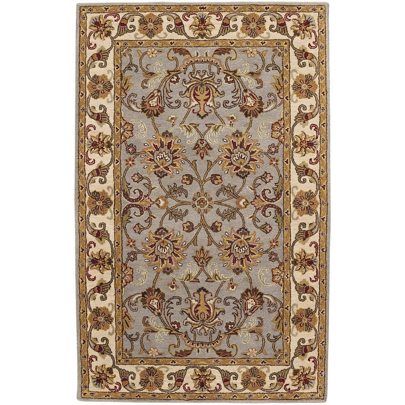Eloquent Garden Grey Hand Tufted Rug Rectangle image