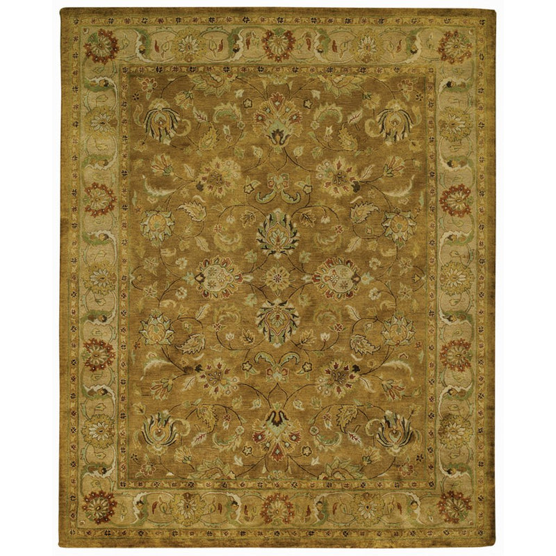 Velvet-Mirza Gold Finch Hand Tufted Rug Rectangle image