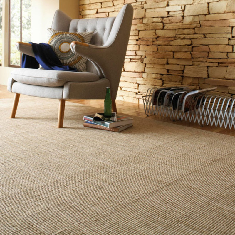 Montauk Natural Hand Loomed Area Rug Rectangle image