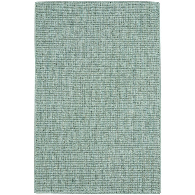 Montauk II Seafoam Hand Loomed Area Rug Rectangle image