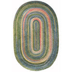 Bailey Sprout Braided Rug Oval image