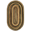 Cambridge New Leaf Braided Rug Oval image