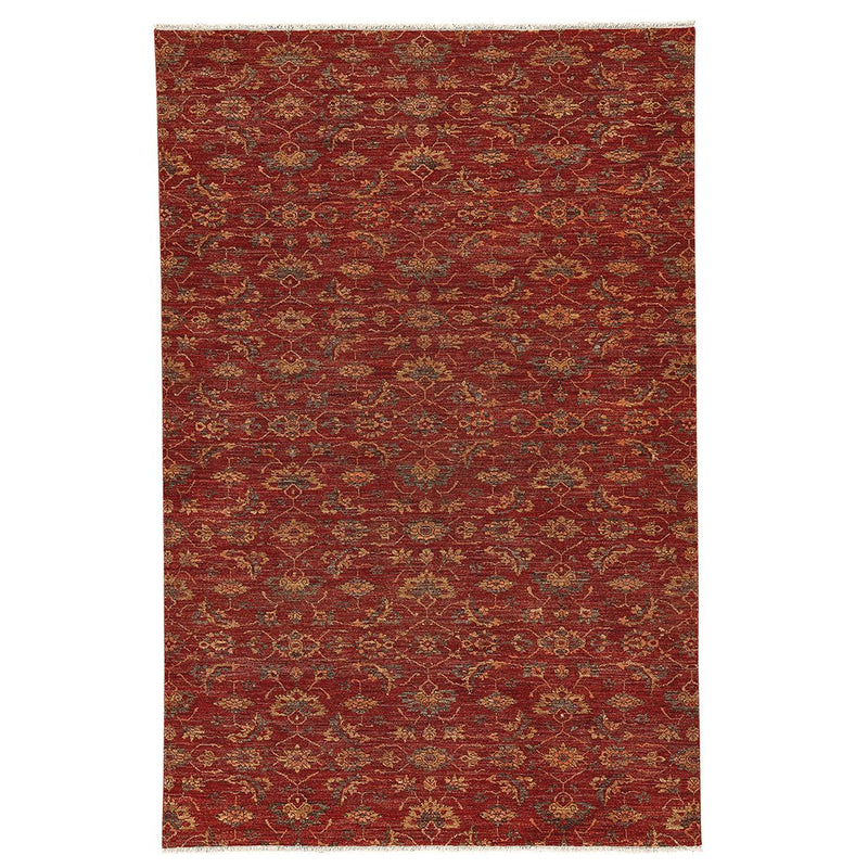 Capital Henna Hand Knotted Rug Rectangle image