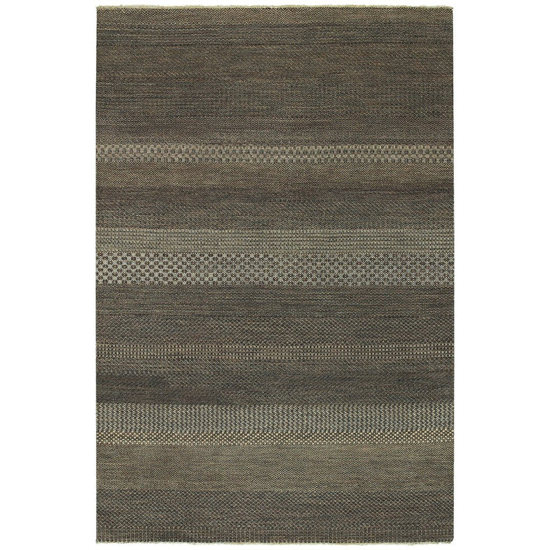 Barrister Cognac Hand Knotted Rug Rectangle image