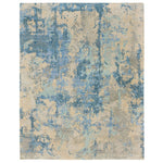 Tasanee Ocean Hand Knotted Rug Rectangle image